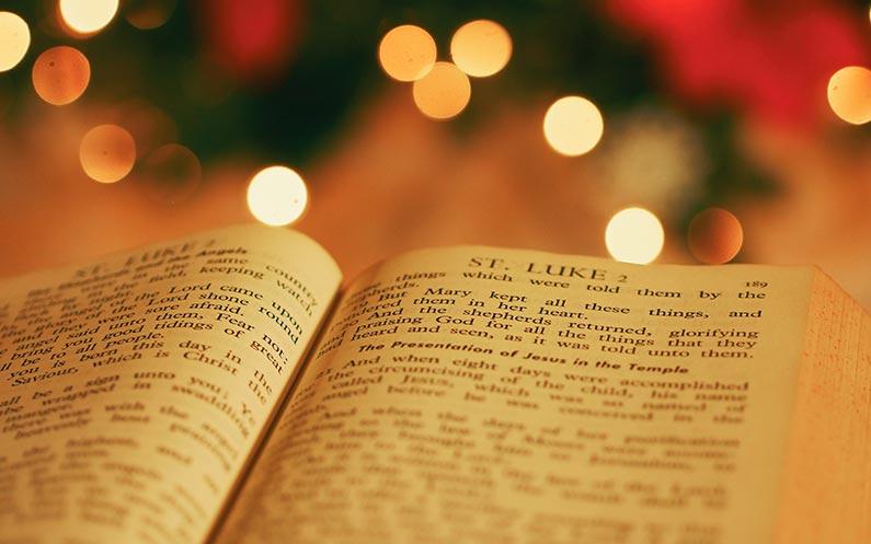 Besuch bei den Vorbereitungen der Weihnachtsfeier für Einsame