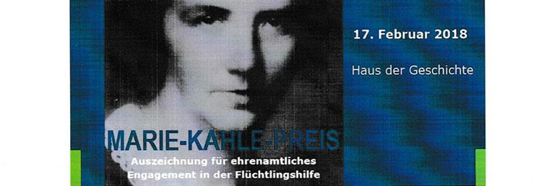 Marie-Kahle-Preis