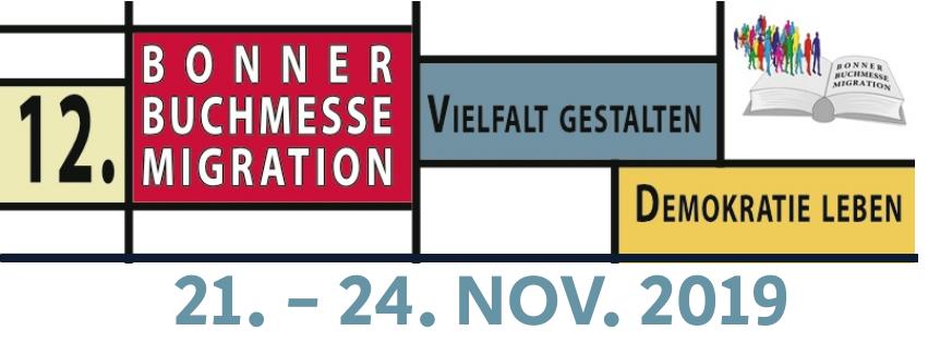 """12. Bonner Buchmesse Migration: """"Vielfalt gestalten – Demokratie leben"""""""